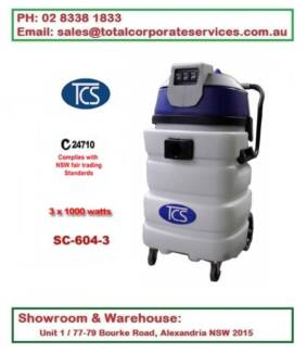 SC-604-3 90L Wet & Dry Vacuum Cleaner Ametek Motor 3*1000W