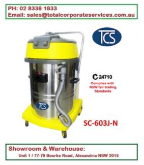Vacuum Cleaner Wet and Dry 2000W 10A 60L