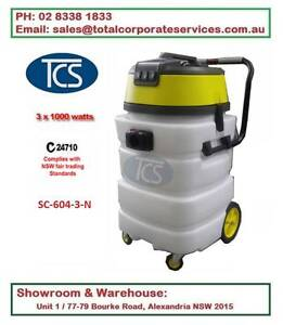 90Lt 3000W Ametek Motors Commercial Wet and Dry Vacuum Cleaner Alexandria Inner Sydney Preview