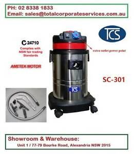 SC-301 Commercial 30L Wet & Dry vac cleaner with ametek motor Alexandria Inner Sydney Preview