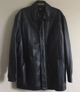 Men's Danier Leather Top Coat Size 40-42