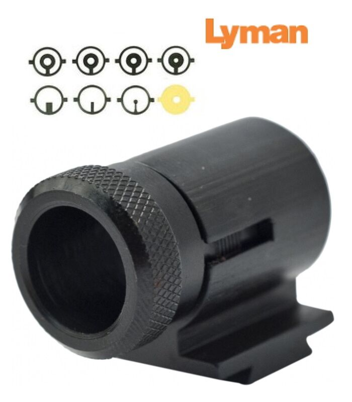 """Lyman  17AHB Front Sight .404"""" High  INCLUDES 8 Inserts 3171076 New!"""
