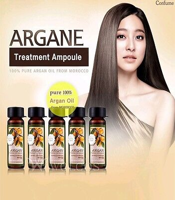 WELCOS Confume Argan Treatment Hair Ampoule For Damaged Hair 15 ml x 5 Pcs