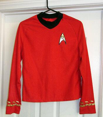 Star Trek 1st Season style Tunic. Engineering Division, Lt Commander Scotty #1
