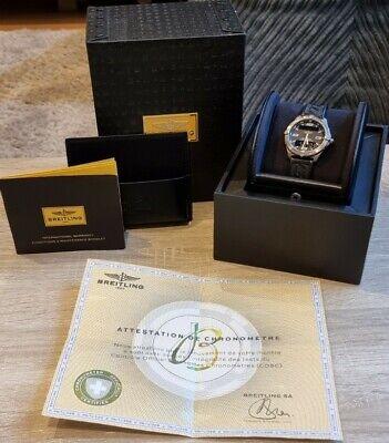 Breitling Aerospace Titanium Chronograph E65062 With Box And Manuals
