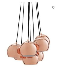 Frandsen Ball Multi Lamp Copper