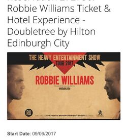 2 Tickets plus a night in the doubletree by Hilton.