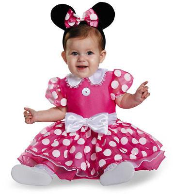 Minnie Maus Kleid  Kostüm 80-86 Karneval Fasching Disney USA erste 1. Geburtstag (Minnie Maus Geburtstag Kleid)