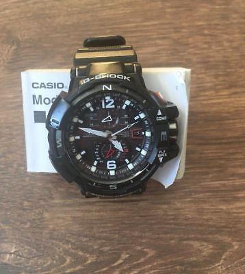 Casio G-Shock Tough Solar Herren Funk Uhr 200M Datum Sapphire GW-A1100-1AER rar gebraucht kaufen  Karlsruhe