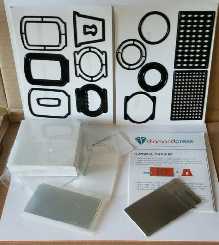 Diamond Press SOMETHING SPLENDID SHAKER Kit- 14 Dies, Foam, Acetate included New