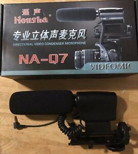 Dslr condencer microphone
