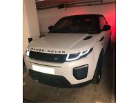Hire Range Rover Evoque Convertible.
