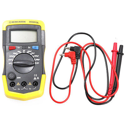 Digital LCD XC6013L Capacitance Meter Capacitor Tester Circuit Gauge