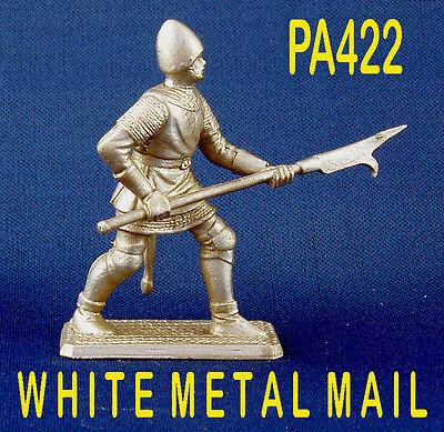 PA422 Military Lead Casting 1:32 Scale/54m Medieval English Billman LEAD CASTING