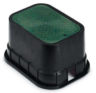 "Rain Bird PVB VALVE BOX WITH GREEN LID 12""x17""x12"" Rectangle *USA Brand"