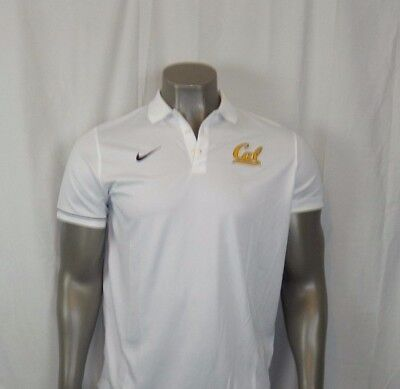 Cal Bears Nike Elite Coaches Performance Polo New With Tags
