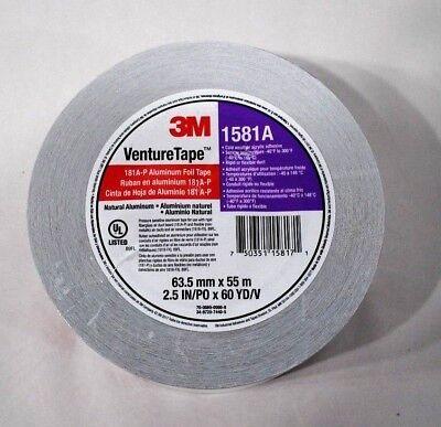 Venture Tape Foil Hvac Tape 2.5 In X 180 Ft - 1581a