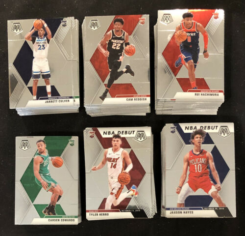 2019-20 Panini Mosaic Basketball Rookie RC Cards Lot You Pick