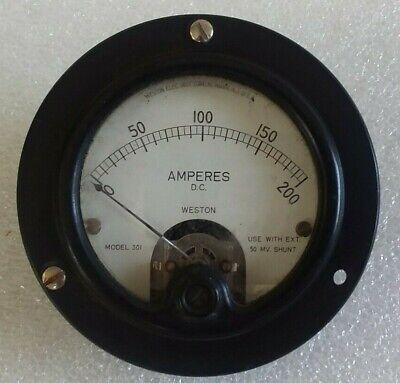 Weston Dc Voltsamperes Gauge Model 301