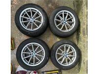 BMW alloy wheels x3 17 inch