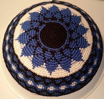 Knitted Yarmulke Yamaka Judaica Israel kippot hat Kippah skull cap