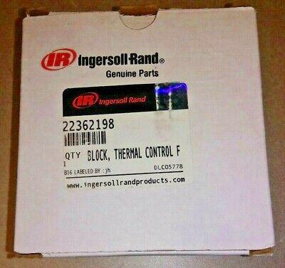 22362198 Ingersoll-rand Thermal Control Valve Block Genuine Oem