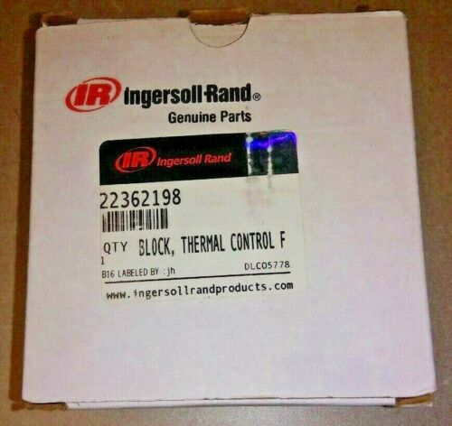 22362198 Ingersoll-Rand THERMAL CONTROL VALVE BLOCK *GENUINE OEM*