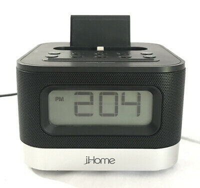 iHome iPL8 - Speaker, Radio, Alarm Clock, Lightning Connector iPhone Dock