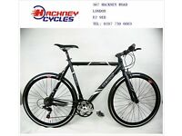 Brand New aluminium 21 speed hybrid road bike ( 1 year warranty + 1 year free service ) 11uu