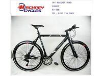 Brand New aluminium 21 speed hybrid road bike ( 1 year warranty + 1 year free service ) a6