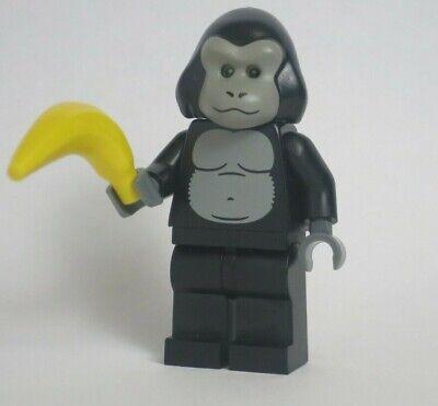 Gorilla Suit Guy Series 3 Banana Monkey Costume  CMF LEGO Minifigure Mini Figure