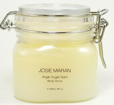 Exfoliant Body Scrub (Josie Maran ~ ARGAN SUGAR BALM Body Scrub Moisturizing Exfoliate SUGAR PLUM 10oz )