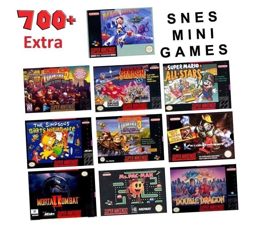SNES / NES Mini mod service 700 + games