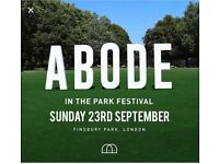 ABODE IN THE PARK FESTIVAL