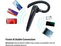 Wireless Bluetooth Headphones5.0 Headset Earpiece Hands Free For iPhone Samsung