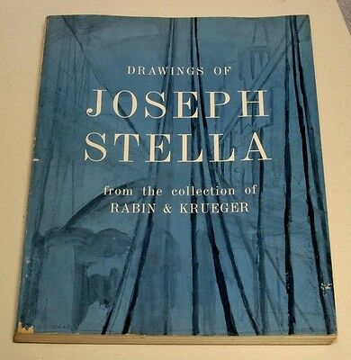 DRAWINGS OF JOSEPH STELLA--1962--COLLECTION OF RABIN & KRUEGER