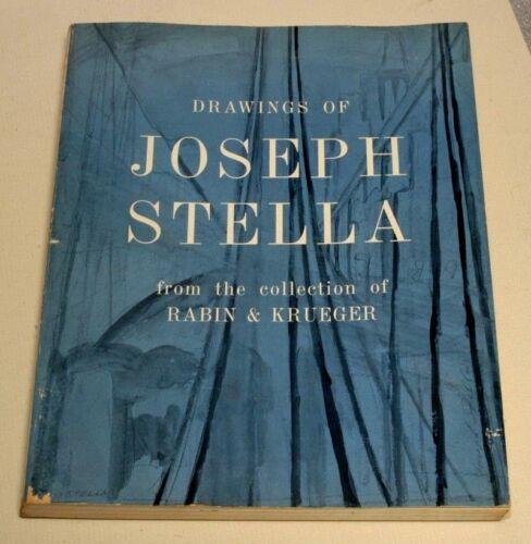 DRAWINGS OF JOSEPH STELLA--1962--COLLECTION OF RABIN & KRUEGER