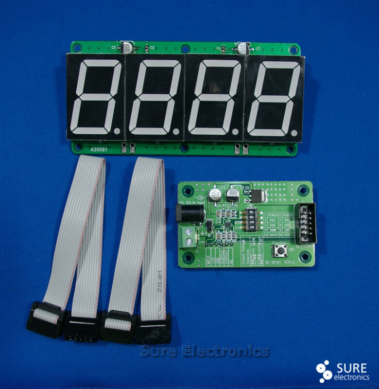 "1.5"" Character Height 7-segment LED 4 digit  Information Board *USA"