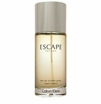 Escape Cologne  for Men by Calvin Klein Eau de Toilette Spray 3.4 oz  New no Box Calvin Klein Escape