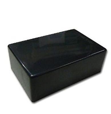 Black Plastic Cover Project Electronic Instrument Case Enclosure Box Sm Gy