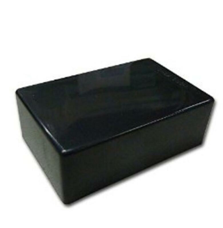 Black Plastic Cover Project Electronic Instrument Case Enclosure Box SM RCUS