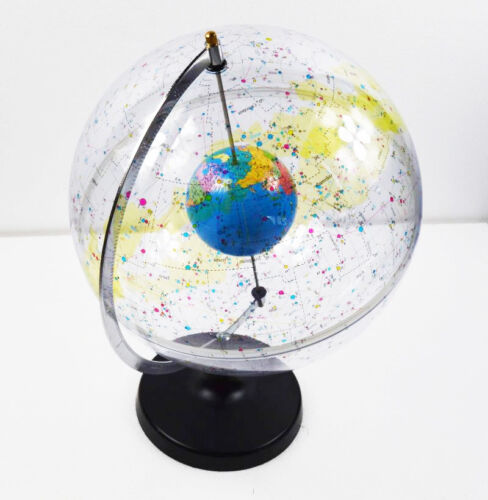 "Globe Diameter 12.6"" Inch (32cm) Antique Desktop World Earth Globe"