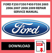 Workshop Service Repair Manual for FORD F250 F350 F450 ...