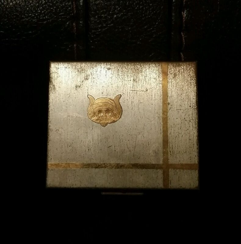 SAHARA GROTTO, Indianapolis, Indiana cosmetic compact/mirror
