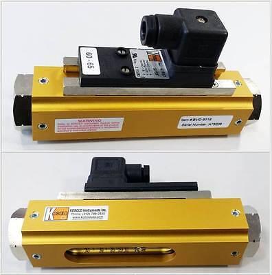Kobold Durchflussmesser, Flowmeter, BVO-6116, neuwertig!