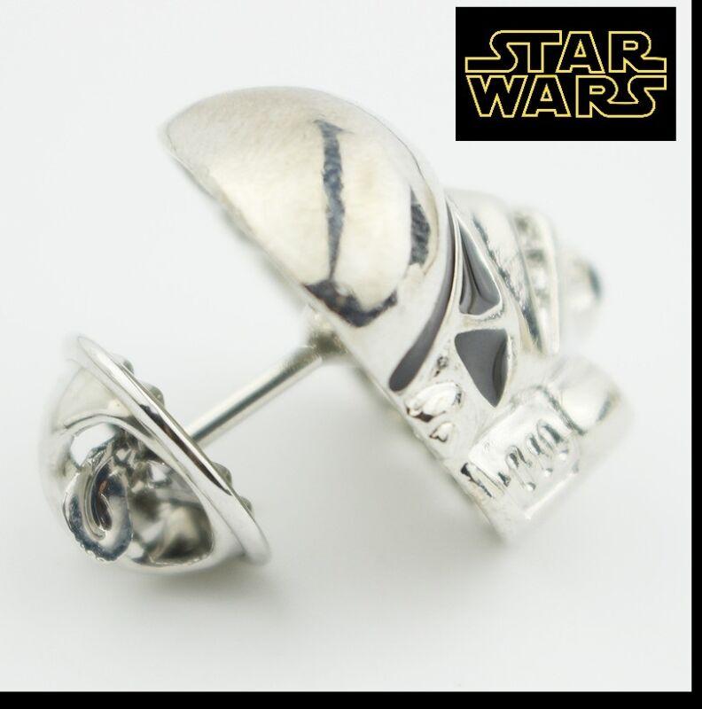 WHT1 STAR WARS STORMTROOPER Logo Metal Pin brooch prop badge darth vader cosplay