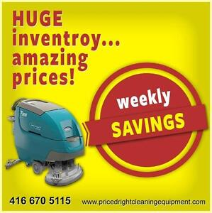Floor Scrubbers, Sweepers, Parts & More!!!