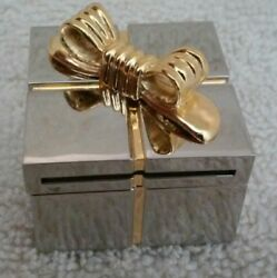 Miniature Gift Box Desk/Dresser Clock.  New in Box