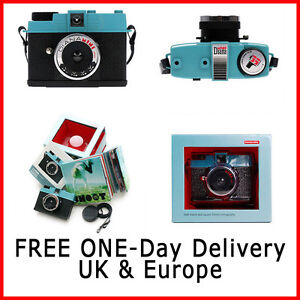 Lomography Diana Mini F 35mm Film Camera - Free 2x Films & Next Day Delivery