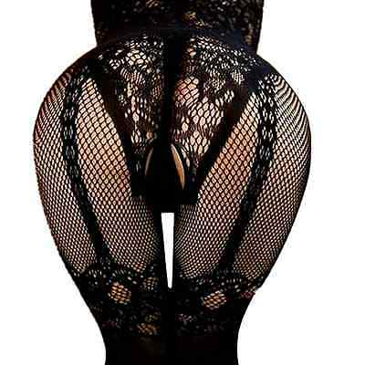 Mesh Fishnet Bodystockings Body Stocking Bodysuit Big Nightwear Dress Lingerie